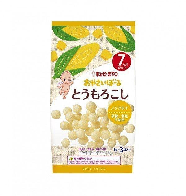 KEWPIE Vegetable Boro Biscuits - Corn 3g x 3 Bags