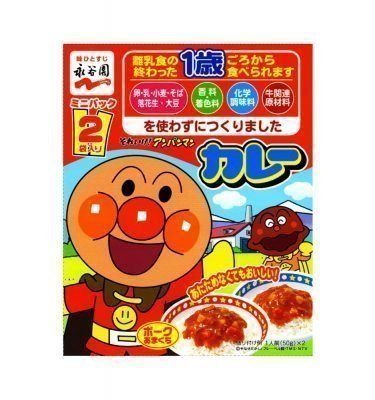 NAGATANIEN Anpanman Curry - from One Year Old