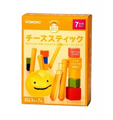 WAKODO Smile Pocket Cheese Sticks - from 7 Months