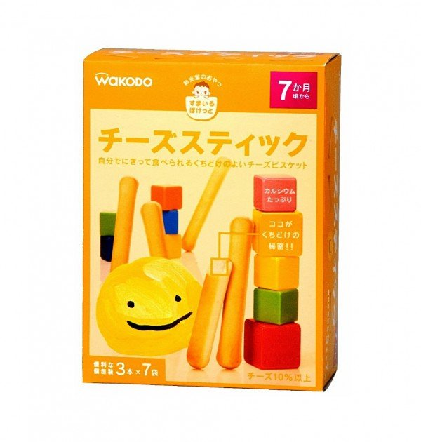 WAKODO Smile Pocket Cheese Sticks - from 7 Months