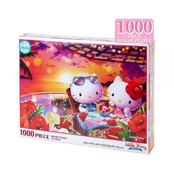 SANRIO Hello Kitty Jigsaw Puzzles - Tropical Sunset 1000 Pieces