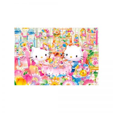 SANRIO Hello Kitty Jigsaw Puzzles Tropical Sunset Pieces Made in Japan