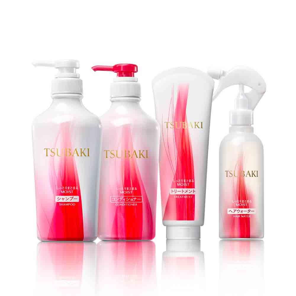 SHISEIDO Tsubaki Damage Care Hair Water Moist Made in Japan