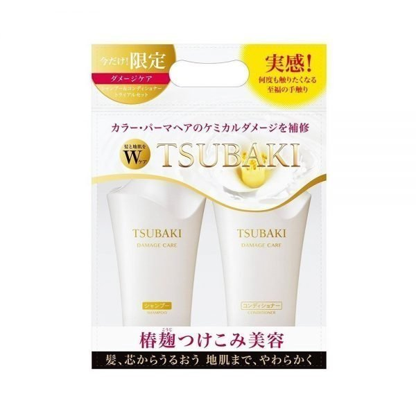 SHISEIDO Tsubaki Damage Care Set Shampoo Conditioner Set