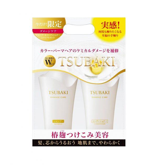 SHISEIDO Tsubaki Damage Care Set Shampoo Conditioner Set