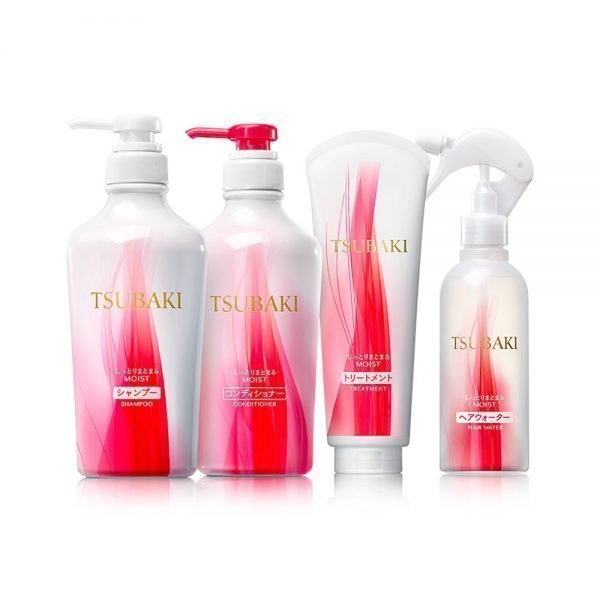 NEW SHISEIDO Tsubaki Extra Moist Shampoo Conditioner Set Made in Japan