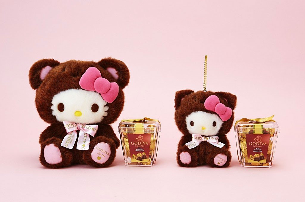 Valentine's Day in Japan | Hello Kitty collaborates with Godiva.