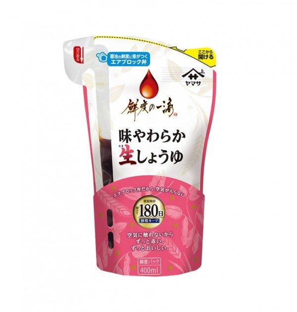 YAMASA Fresh to the Last Drop Shoyu - Mild Delicate Japanese Soy Sauce