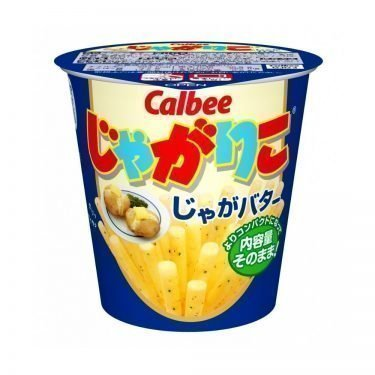 CALBEE Jagariko Potato Sticks - Butter Flavour 60g x 12pcs