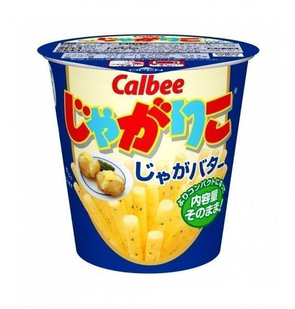 CALBEE Jagariko Potato Sticks - Butter Flavour 60g x 12pcs