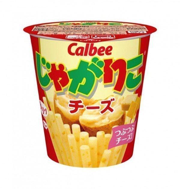 CALBEE Jagariko Potato Sticks - Cheese Flavour 52g x 12pcs