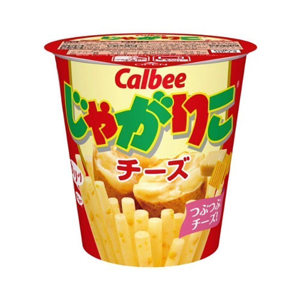 CALBEE Jagariko Potato Sticks - Cheese Flavour 52g x 12pcs
