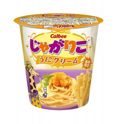 CALBEE Jagariko Potato Sticks - Uni Sea Urchin Flavour 52g x 12pcs