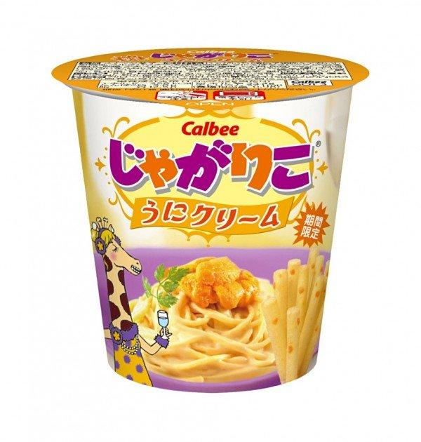 CALBEE Jagariko Potato Sticks - Uni Sea Urchin Flavour 52g x 12pcs