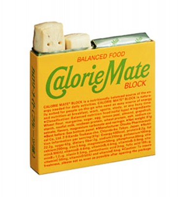 CALORIE MATE Balanced Food Energy Bar Block - Fruit