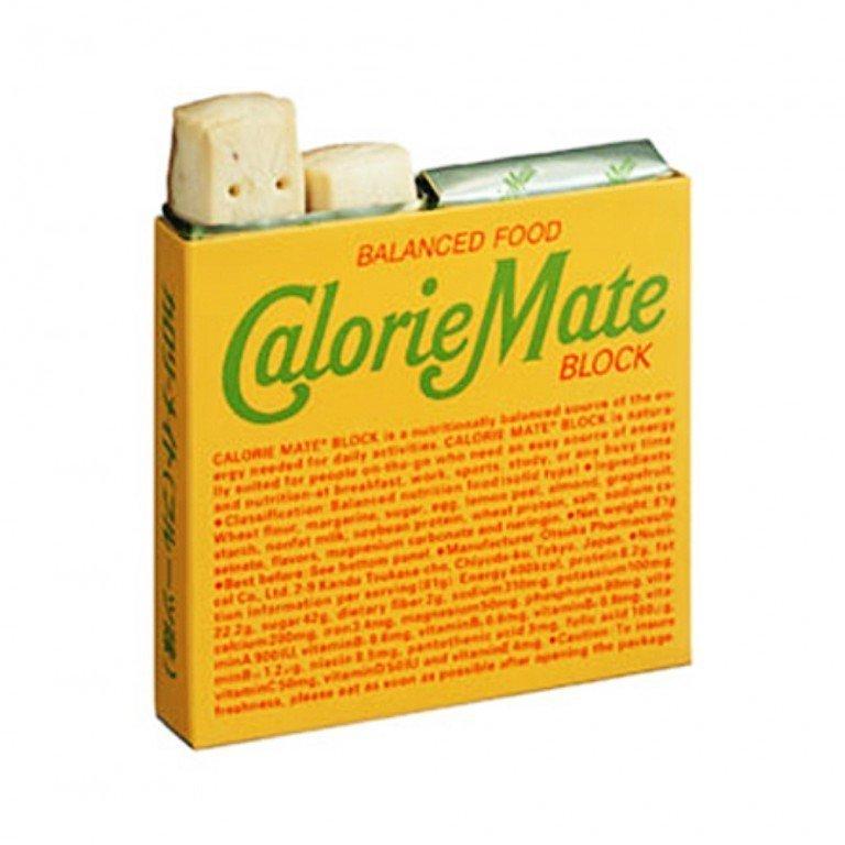CALORIE MATE Balanced Food Energy Bar Block - Fruit