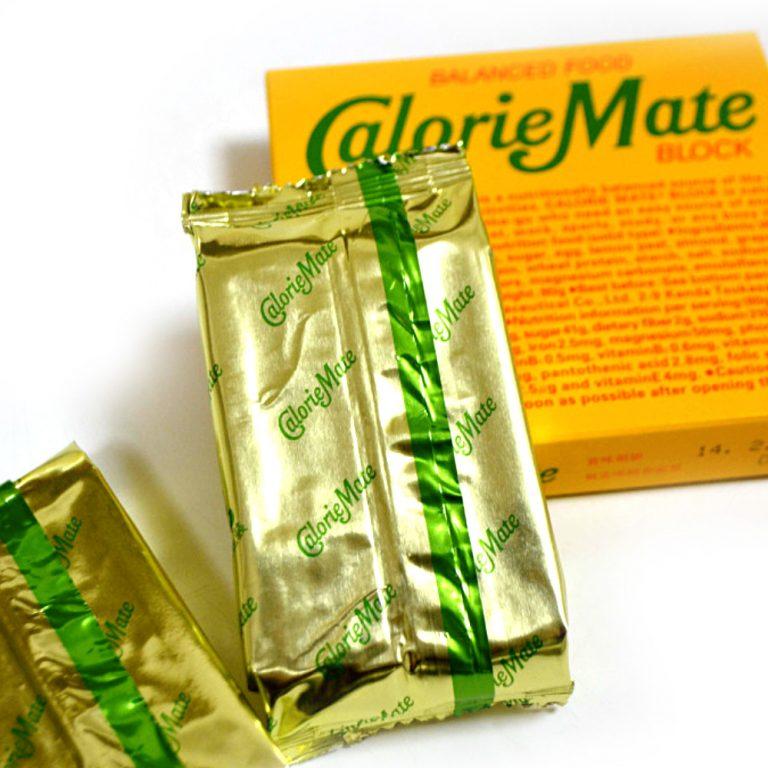 CALORIE MATE Balanced Food Energy Bar Block