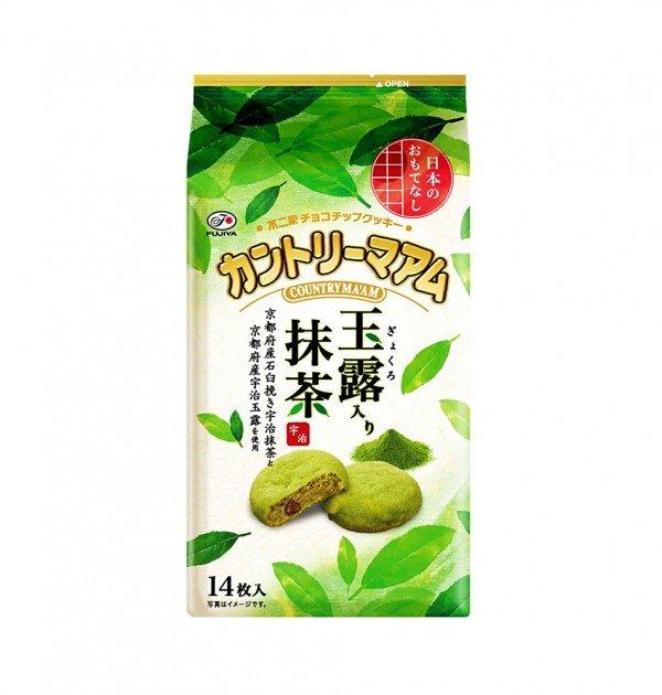 FUJIYA Japanese Country Ma'am Gyokuro Matcha Cookies - 2016 Latest Version
