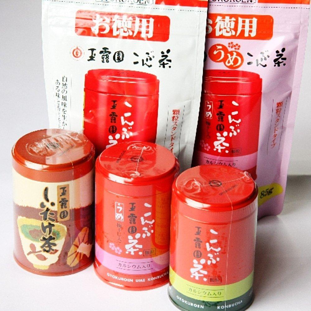 GYOKUROEN Shiitake Cha Tea Powder - Can 30g