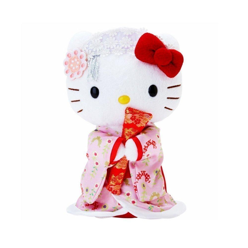 Hello Kitty Kimono Standing Doll Takaski Com