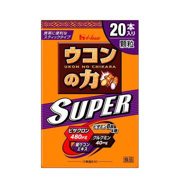 HOUSE Super Ukon No Chikara Turmeric Granules – Hangover Cure