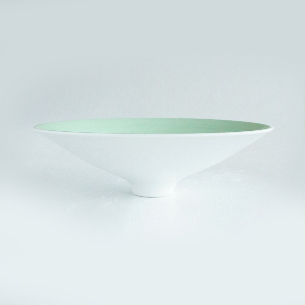JAPAN GREEN TEA Arita Porcelain Platter – Pearl Green