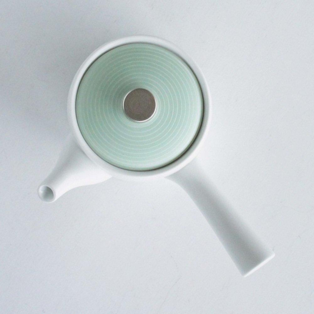 JAPAN GREEN TEA Arita Porcelain Tea Pot - Pearl Green