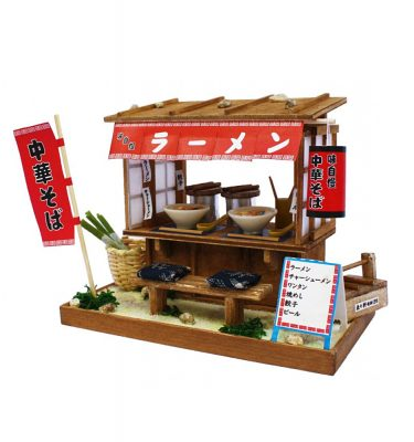 Japanese Dollhouse Kit - Ramen Stall from Showa Era