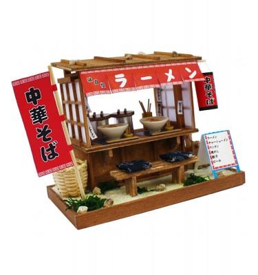Japanese Dollhouse Kit - Ramen Stall from Showa Era