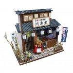 Japanese Dollhouse Kit - Eel Restaurant in Tokyo Downtown Shibamata