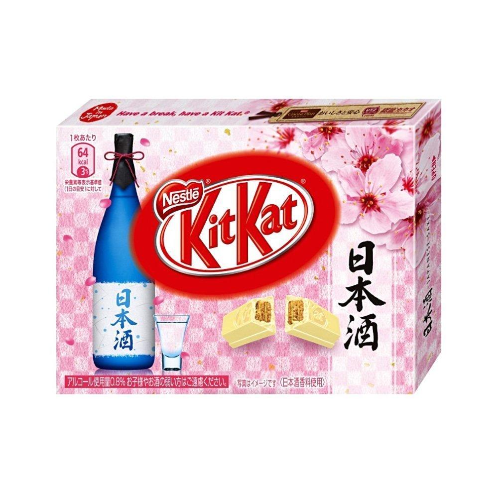 KIT KAT Japanese Sake Mini White Chocolate 3 Pcs - Available Only ...