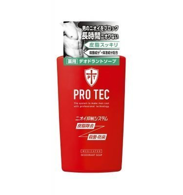 LION Pro Tec Deodorant Soap for Men - Pump 420ml