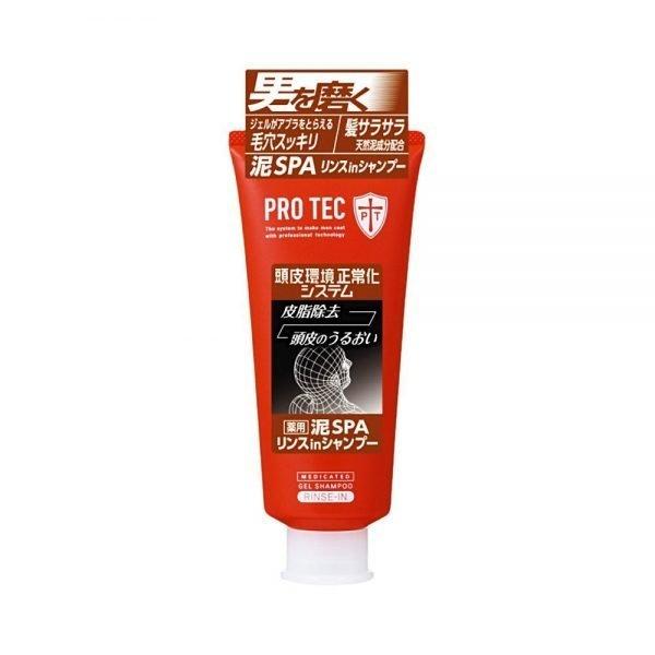 LION Pro Tec Mud Spa Rinse in Shampoo for Men 160ml