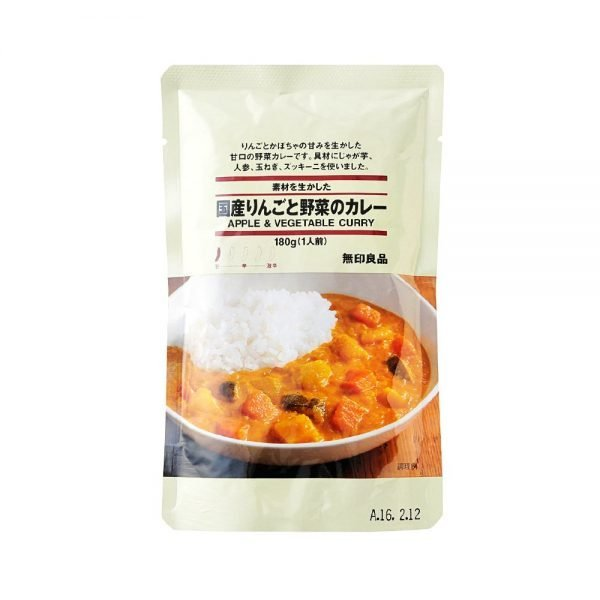 MUJI Vegetable and Apple Curry - One Serving