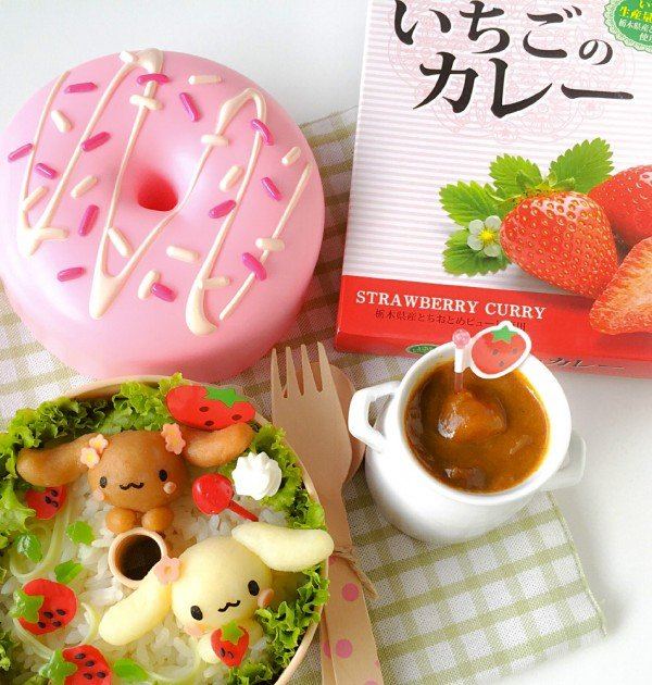 NAGATANIEN Japanese Strawberry Curry
