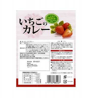 NAGATANIEN Strawberry Curry