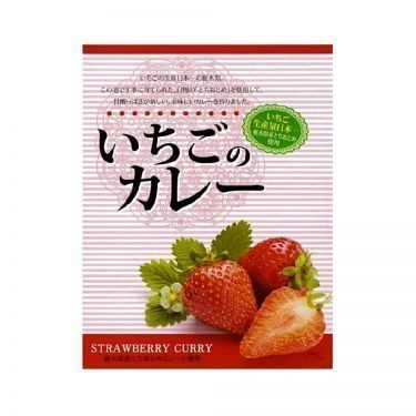 NAGATANIEN Strawberry Curry x 5pcs