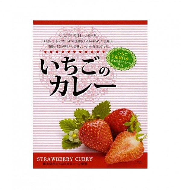 NAGATANIEN Strawberry Curry x 5pcs