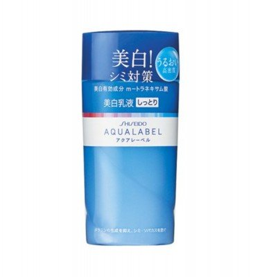 SHISEIDO Aqualabel Whitening Up Emulsion R - Moist 130ml
