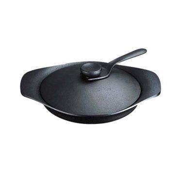 SORI YANAGI Cast Iron Oil Pan - Nambu Tekki Cast Ironware