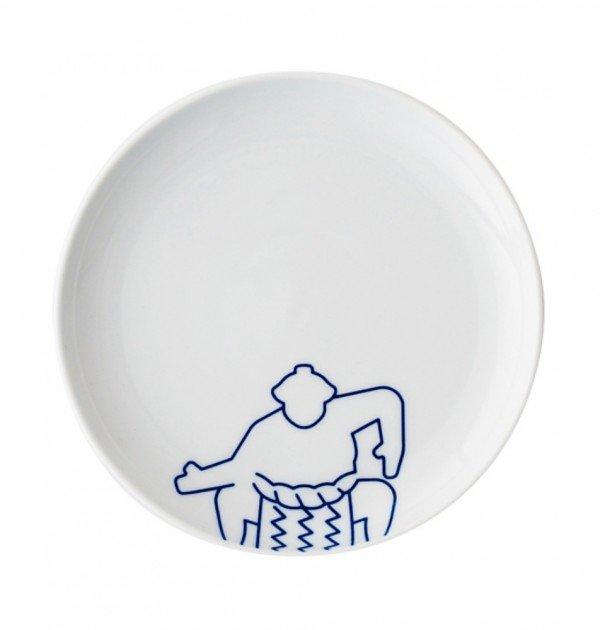 TOKYO ICON Arita Porcelain Small Plate - Sumo