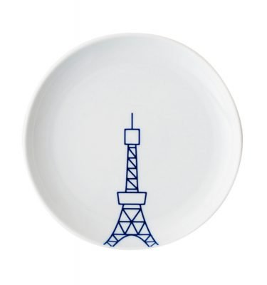 TOKYO ICON Arita Porcelain Small Plate - Tokyo Tower