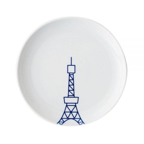 TOKYO ICON Arita Porcelain Small Plate - Tokyo Tower