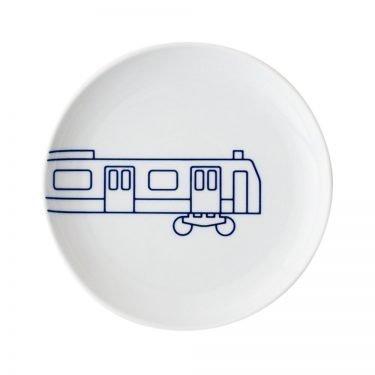TOKYO ICON Arita Porcelain Small Plate - Yamanote Line Train