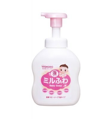 WAKODO Mirufuwa Baby Foam Soap - 450ml
