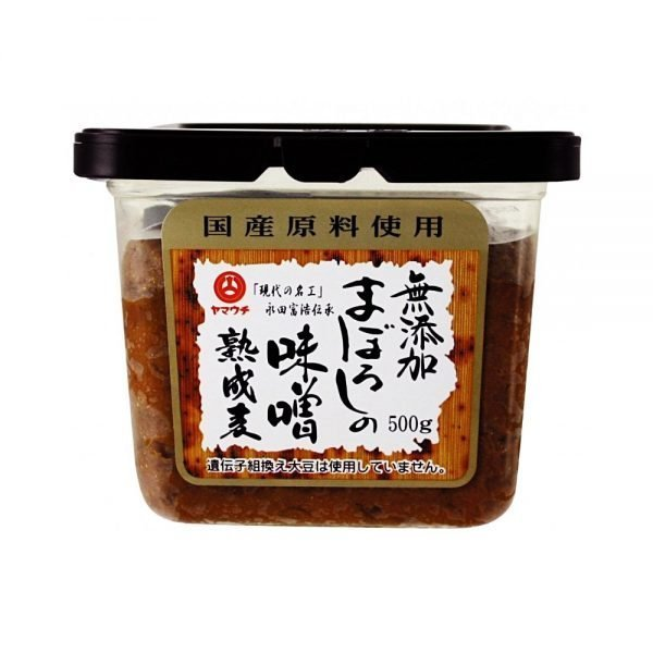 YAMAUCHI Additive-Free Maboroshi Miso with Ripe Wheat - Award Winner 500g