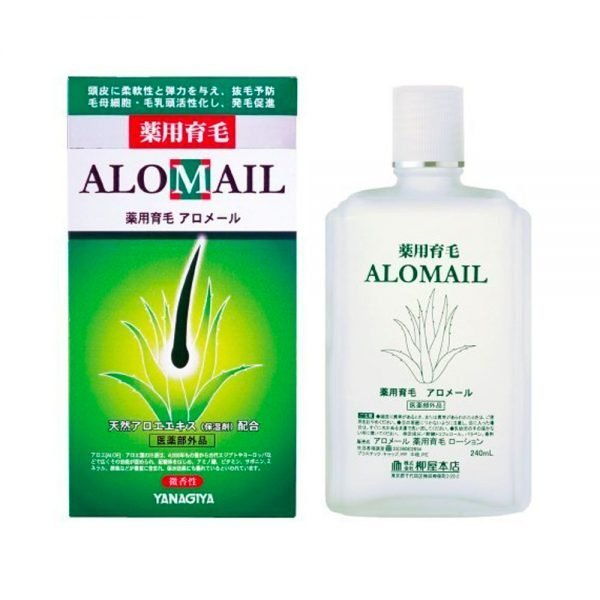YANAGIYA Alomail Hair Regrowth Treatment Aloe Made in Japan