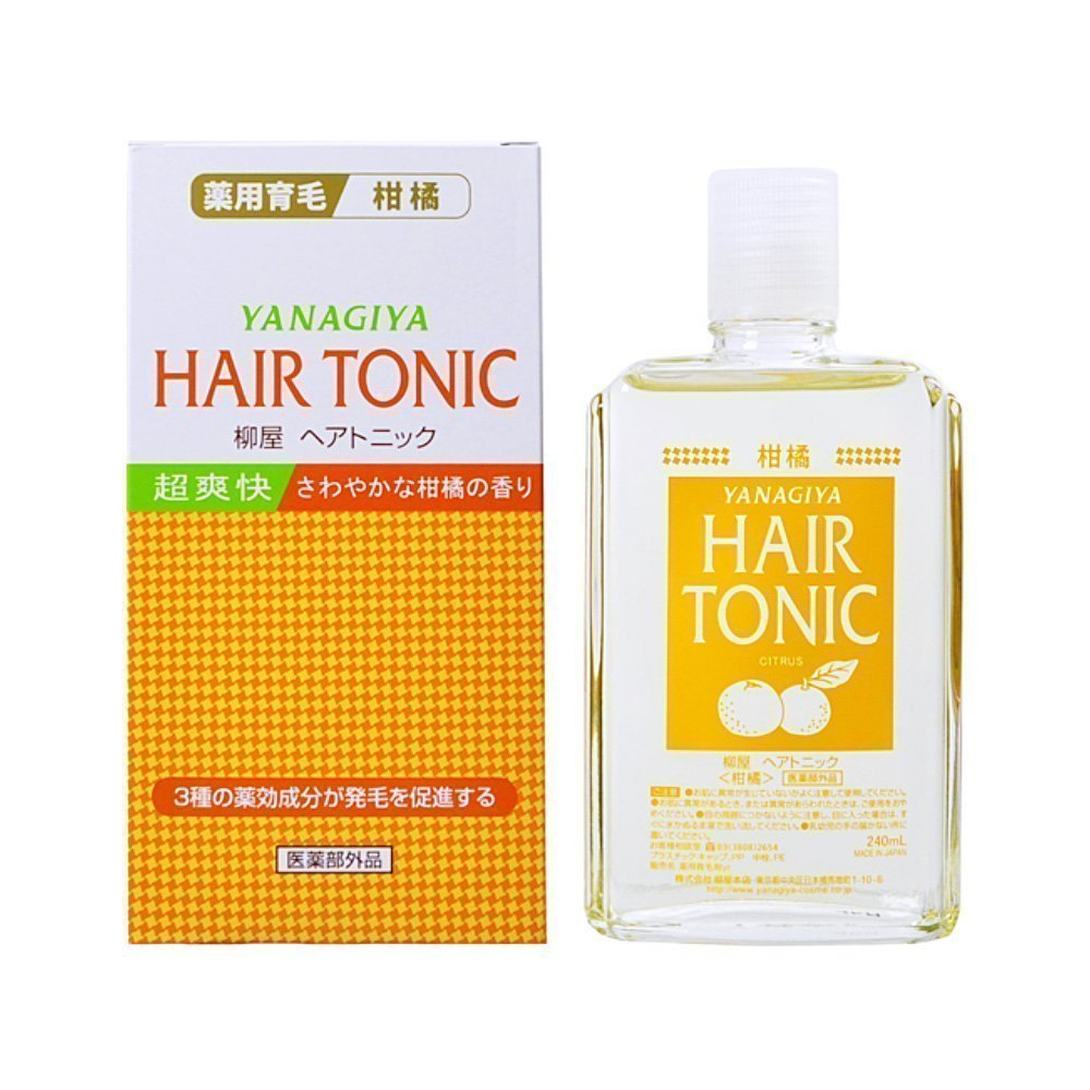 Yanagiya Hair Tonic Citrus 240ml Made In Japan Takaski Com