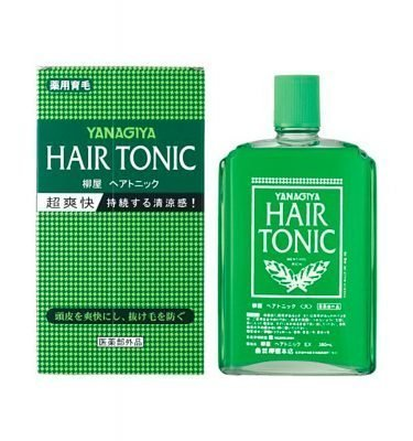 YANAGIYA Hair Tonic 240ml Made in Japan