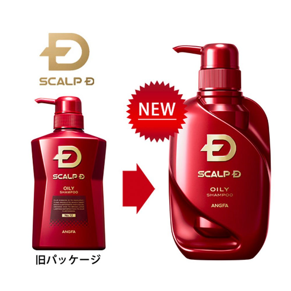 Angfa Scalp D Medical Shampoo Strong Oily Skin Type 350ml